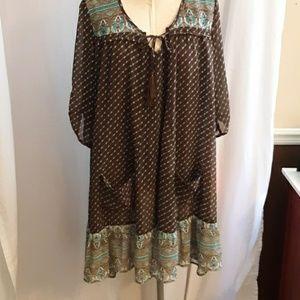 Dress soft fabric